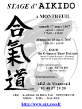 Stage ARZ : 17 & 18 mars 2007 - AIKIDO - MONTREUIL-SOUS-BOIS (F-93100)