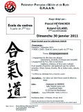 Stage GHAAN : 30 janvier 2011 - AIKIDO - ISSY-LES-MOULINEAUX (F-92130)