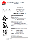 Stage GHAAN : 27 février 2011 - AIKIDO - ISSY-LES-MOULINEAUX (F-92130)