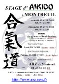 Stage ARZ : 02 & 03 avril 2011 - AIKIDO - MONTREUIL-SOUS-BOIS (F-93100)