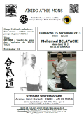 Stage GHAAN : 15 décembre 2013 - AIKIDO - ATHIS-MONS (F-91200)