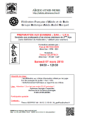 Stage : 07 mars 2015 - AIKIDO - ATHIS-MONS (F-91200)