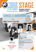 Stage : 11 novembre 2017 - AIKIDO - PARIS (F-75012) - Stage de la Commission féminine