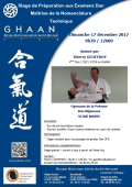 Stage : 17 décembre 2017 - AIKIDO - MASSY (F-91300) - Thierry GEOFFROY ( 4ème dan - GHAAN - ACTM )