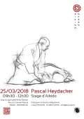 Stage : 25 mars 2018 - AIKIDO - MONTREUIL (F-93100) - Pascal HEYDACKER ( 6ème dan - GHAAN - RTN )